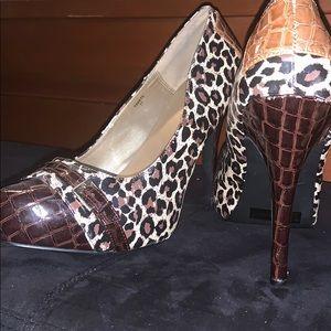 Cheetah Print Stiletto